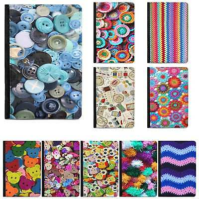 Knitting Pattern Crochet Sewing Haberdashery Passport Cover Holder Wallet Case • 8.75£