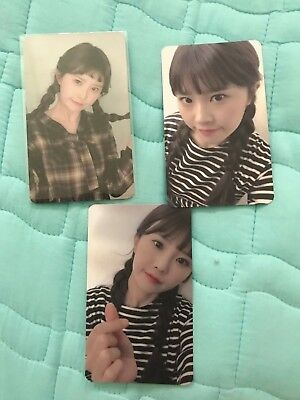 $ CDN112.96 • Buy Idol School Fromis_9 약속회 Augraphed Photocard Photo Card Hayoung