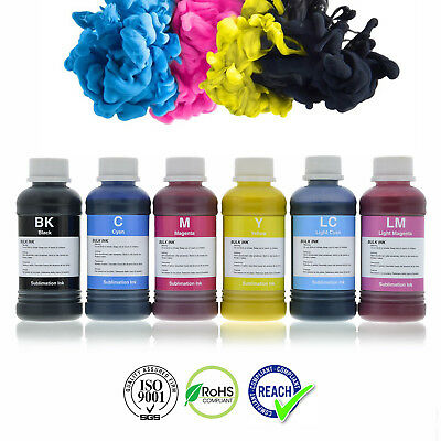 AU86.99 • Buy Dye Sublimation Inks For Epson & Brother Printers Refillable Cartridges Or CISS