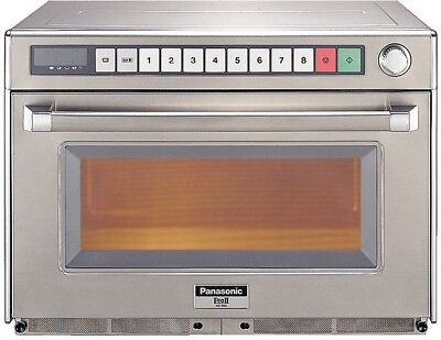 Panasonic NE1880 Commercial Gastronorm Microwave Oven(Boxed New) • 1,957£