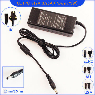 Ac Power Adapter Charger For Toshiba Equium P200D-139 U300 Laptop • 13.95£