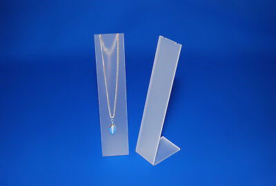 £4.99 • Buy Tall Slim Line Acrylic Necklace Pendant Chain Display Jewellery Display Stand
