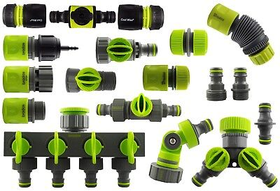 Range Of Quality Garden Water Hose Pipe Connectors & Fittings • 13.78£
