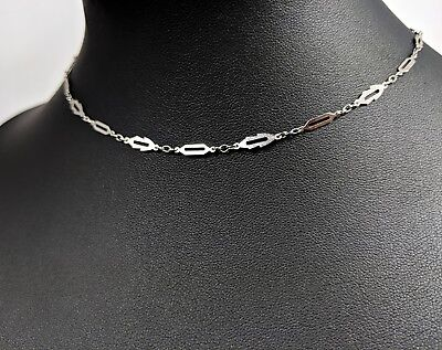 £35 • Buy Lovely Vintage Silver-tone Necklace By Trifari Jewellery