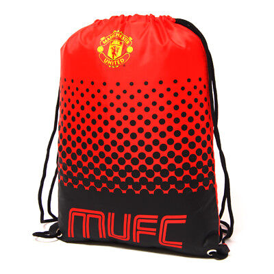 Manchester United Fc Fade Design Gym Bag Pe School Swimming Sport New Xmas Gift • 8.93£