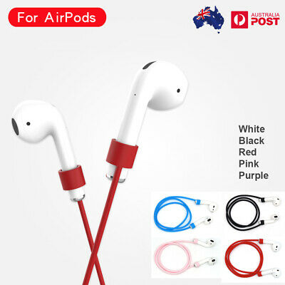 AU4.35 • Buy Luminous Anti-lost Lanyard Rubber TPU Headset Line Strap For Apple AirPods Pro