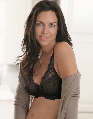 Playtex  Flower Lace Elegance  Underwired Bra 5832 In Black FREEPOST UK • 23.99£