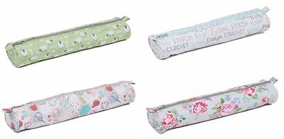 Knitting Needle / Pin Bag Storage Case By Hobby Gift - All Designs - 44cm Long • 6.45£