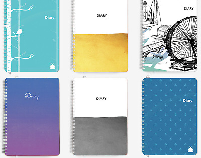 £10.45 • Buy Mid-Year Academic Diary | 2021-2022 | Spiral Bound Planner | START ANY MONTH!!!