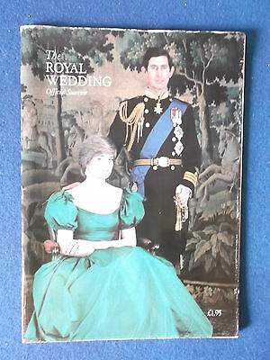 £4.99 • Buy The Royal Wedding Official Souvenir - Prince Charles & Lady Diana Spencer - 1981