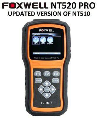 $159.95 • Buy Foxwell Nt520 Pro Mercedes Benz Diagnostic Scanner Tool Code Airbag Reader Nt510