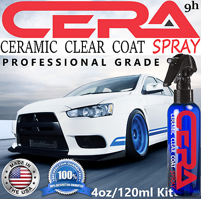 $29.95 • Buy Ceramic Car Coating Spray Nano 9h Pro Grade Paint Sealant Car Polish Wax Gloss