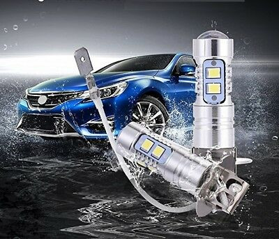 AU38.99 • Buy 2 X H3 LED CREE XBD 100W FOG LIGHT DRIVING BULBS CAR LAMP GLOBE 2 Yr Au Warranty