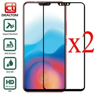 AU1.99 • Buy 2x Full Cover 9H Tempered Glass Screen Protector Film For OnePlus 3 3T 5 5T 6 6T