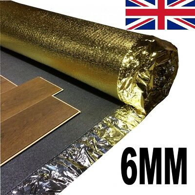 Super Sonic Gold 6mm - Acoustic Laminate Underlay - 1 Roll  • 33.99£