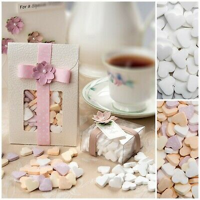 £2.85 • Buy Mini Mint/Fruit Hearts Sweets Wedding Party Favour Christening Baby Shower