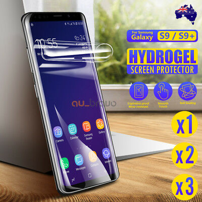 AU3.95 • Buy Samsung Galaxy S10 5G Note 10 Plus 9 8 S10e S9 S8 Plus HYDROGEL Screen Protector