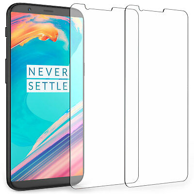 AU2.84 • Buy 2x 9H Tempered Glass Screen Protector Film Guard Protection For OnePlus 5T