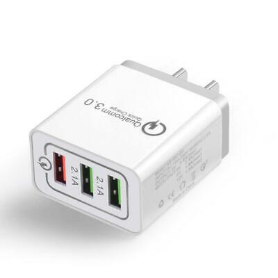 AU7.90 • Buy 30W QC 3.0 Fast Quick Charger 3 Port  USB Hub Wall Charger Adapter For Cellphone