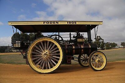 AU250000 • Buy 1905 Foden Traction Engine, 7 HP, 2 Speed, Running And In sensational Condition