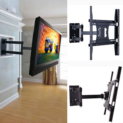 AU34.97 • Buy Full Motion TV Wall Mount Bracket Swivel Tilt 26  27  32  37  42  47  50  LED HD