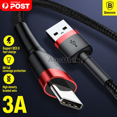 AU9.99 • Buy 90° Gaming FAST USB Type-C Data Charger Cable For Samsung S20 Ultra S10 S9 PLUS