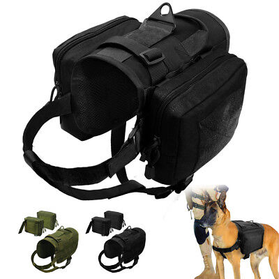 AU49.99 • Buy No Pull Medium Large Dogs Harness K9 Dogs Molle Training Vest German Shepherd