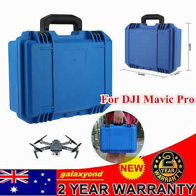 AU47.05 • Buy Pro Waterproof Hard Case Carry Box For  DJI Mavic Pro Drone ABS Material BLUE AU