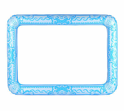 Inflatable Blue Photo Frame - Giant Photo Booth Prop Selfie Gift Blow Up Wedding • 4.19£
