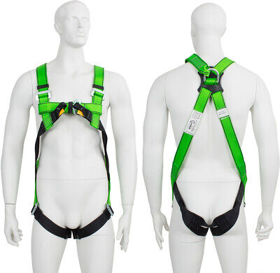 £21.59 • Buy G Force 2 Point Height Safety Fall Arrest Restraint Scaffold Body Harness S-XXL