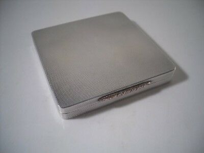 A Very Good Quality Art Deco Style Silver & Gold Compact : Birmingham 1955 • 195£