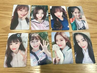 $ CDN105.78 • Buy Fromis_9 Fromis9 The 2nd Mini To.day 약속회 Goods 1 Photocard Photo Card
