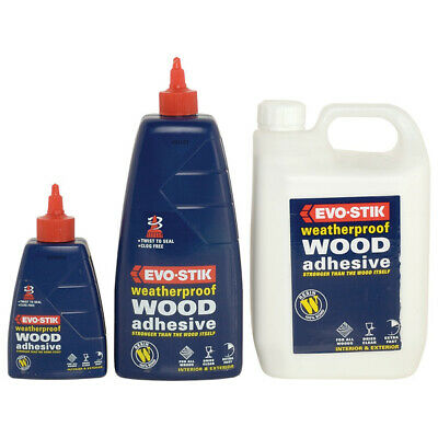 £13.50 • Buy Evo-Stik EXTERIOR Resin W Weatherproof Wood Adhesive Strong Glue Clear Finish