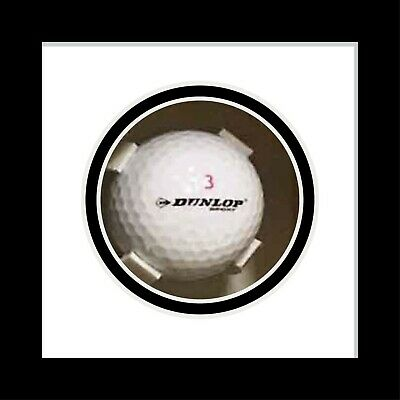Golf Ball Display Case For Signed Golf Ball - White Mount • 23£