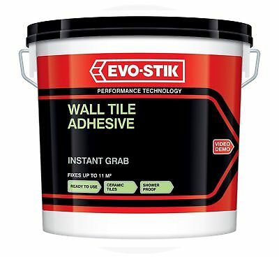 Evo-Stik Instant Grab Wall Tile Adhesive Ready Mixed Ceramic Mosaic Ready   • 9.99£