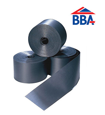 £11.40 • Buy DPC Damp Proof Course - 100mm - 600mm Rolls - BBA Approved - Brick Block Work