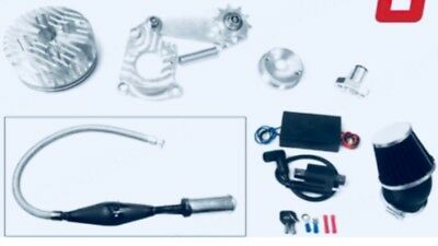 $ CDN218.53 • Buy 2 STROKE 66CC 80cc High-Performance Engine Motorized Bicycle Cylinder Carb Kit.