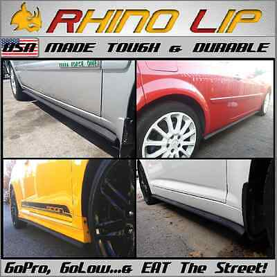 $45 • Buy Fit NASIOC Rocker Panel Side Sill Ground Effect Body Flare Molding Chin Lip Trim
