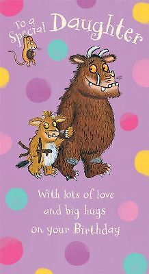 £3.99 • Buy The Gruffalo Birthday Card For A DAUGHTER By Danilo - GR014