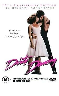 AU9.95 • Buy Dirty Dancing DVD Patrick Swayze Anniversary Edition New & Sealed Aus Release