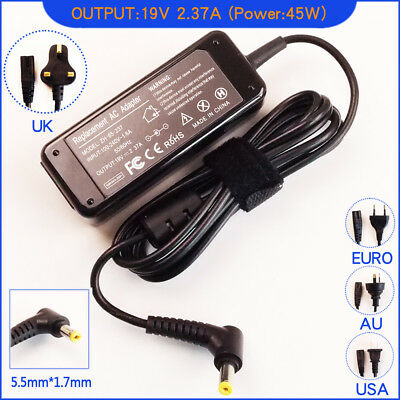 19V 2.37A Ac Adapter Charger For Acer ADP-40TH ADP-40THA PA-1400-11 5.5mm • 12.95£