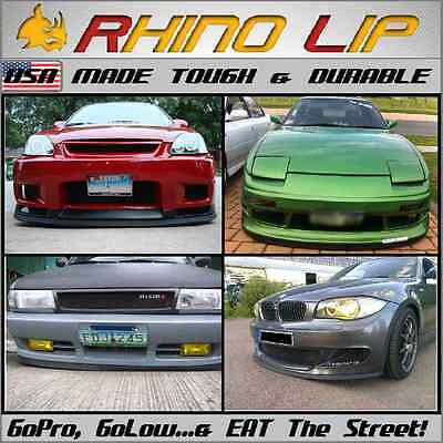 $38 • Buy For: NASIOC Front Bumper Ground Effects Body Flares Molding Chin Lip Edge Trim