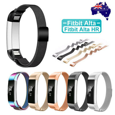 AU9.95 • Buy Stainless Steel Replacement Metal Wrist Band Strap For Fitbit Alta / Alta HR AU