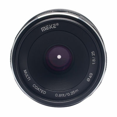 $ CDN100.23 • Buy Meike25mm F/1.8 Prime Lens APS-C For Sony EMount A6000 A6300 A6500 MirrorlessCam
