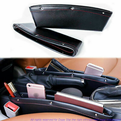 $14.69 • Buy Leather Pouch Interior Seat Seam Storage Organizer Holder Phone Accessory Coin