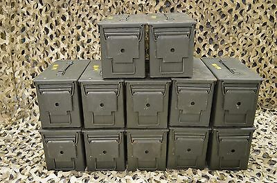 $169.95 • Buy * 12 PACK * 50 Cal M2A1 AMMO CAN COMPLETELY REFURBISHED **EXCELLENT CONDITION**