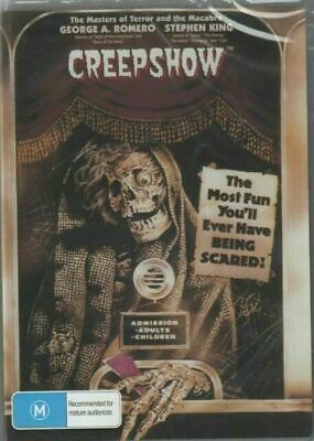 AU9.85 • Buy Creepshow DVD Part 1 Stephen King New And Sealed Australian Release