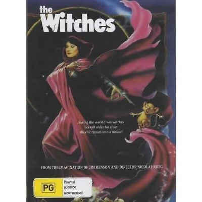 AU9.95 • Buy The Witches DVD Brand New And Sealed Australian Release