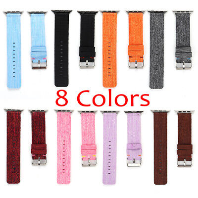 AU15.99 • Buy 40/44 Sports Nylon Apple Watch Band Strap For IWatch Series SE 6 5 4 3 2 1 38/40