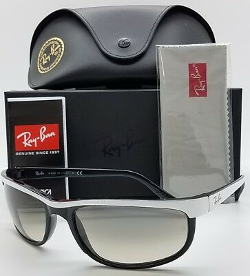 664912d8527 NEW Rayban Sunglasses Predator 2 RB2027 629932 62 White Black Grey Gradient  2027 • 99.95